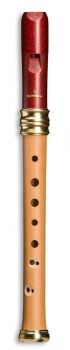 Sopranblockflöte Mollenhauer 1119R Adri's Traumflöte, Kunststoffkopf, barocke Griffweise
