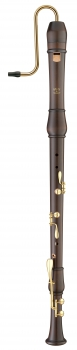 bass recorder Moeck 2521 Flauto Rondo, maple stained