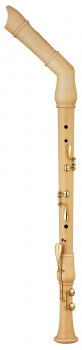 bass recorder Moeck 2540 Flauto Rondo bend neck, maple