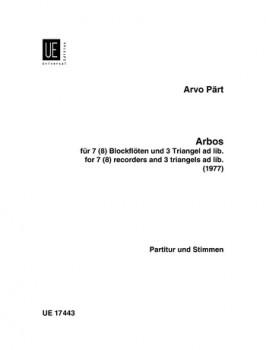 Pärt, Arvo - Arbos - SASTBTB + 3 Triangeln