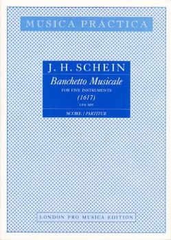 Schein, Johann Hermann - Banchetto Musicale 1617 - SSATB