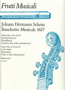 Schein, Johann Hermann - Banchetto Musicale - SSATB / SATTB /SSTTB