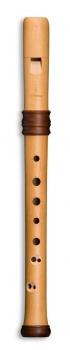 Sopranblockflöte Mollenhauer 4119 Adri's Traumflöte, Birnbaum natur, barocke Griffweise
