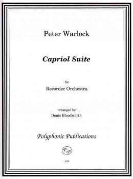 Warlock, Peter - Capriol Suite - Blockflötenorchester