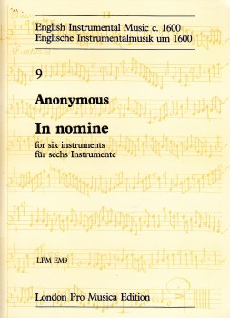 Anonymus - In Nomine - SSATTB