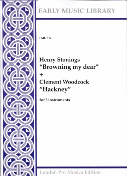 Stonings, Henry - Browning My Dear - Woodcock, Clement -  Hackney - SATTB / ATTTB