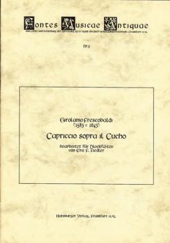 Frescobaldi, Girolamo - Capriccio sopra il Cucho - SATB