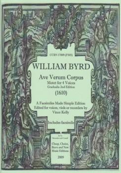 Byrd, William - Ave verum corpus - SATB oder ATTB