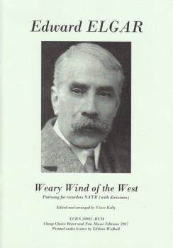 Elgar, Edward - Weary Wind of the West - SATB