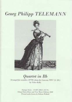 Telemann, Georg Philipp - Quartett B-dur - ATTB