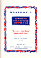 Grainger, Percy Aldridge - Country Gardens - SA und Klavier