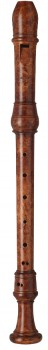 Altblockflöte Moeck 5325 Stanesby, 442 Hz, indisch Buchsbaum gebeizt