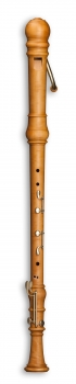 Bassblockflöte Mollenhauer 5506 Denner, Birnbaum