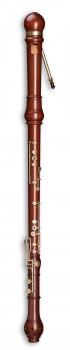 great bass recorder Mollenhauer 5606 Denner, pearwood