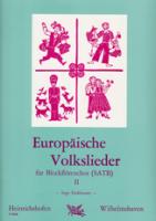 Fankhauser, Ingo - Europäische Volkslieder -  Heft 2  Blockflötenensemble