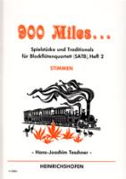 Teschner, Hans-Joachim - 900 Miles... - Heft 2 - SATB