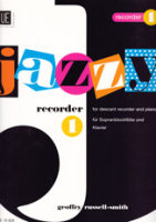 Russell-Smith, Geoffry - Jazzy Recorder 1 - Soprano Recorder and Piano