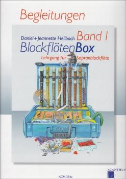 Hellbach, Daniel - BlockflötenBox  1 -  Klavierbegleitungen