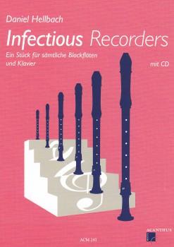 Hellbach, Daniel - Infectious Recorder - Blockflöte, Klavier + CD