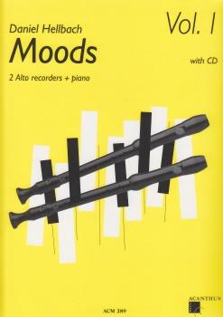 Hellbach, Daniel - Moods Vol. I - 2 Altflöten, Klavier + CD