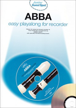 ABBA - Easy Playalong For Recorder  Sopranblockflöte + CD