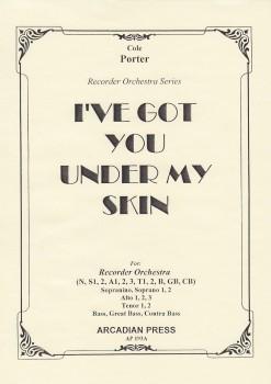 Porter, Cole - I've Got You Under My Skin - Blockflötenorchester