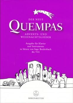 Der neue Quempas - Weihnachtslieder für Blockflötentrio SAB und Klavier