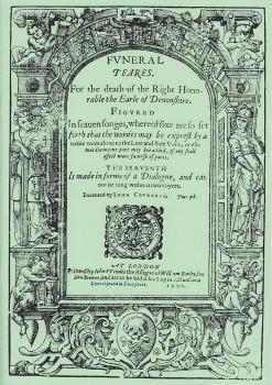 Coprario, John - Funeral Teares - Sopran, Alt, Bass (SAB) und Bc