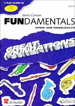 Curnow, James - Fundamentals - Sopranblockflöte + CD