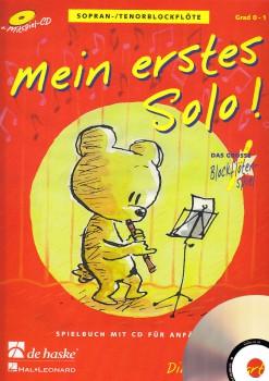 Goedhardt, Dini - Mein erstes Solo - Sopranblockflöte + CD