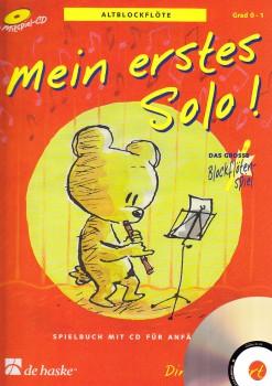 Goedhardt, Dini - Mein erstes Solo - Altblockflöte + CD