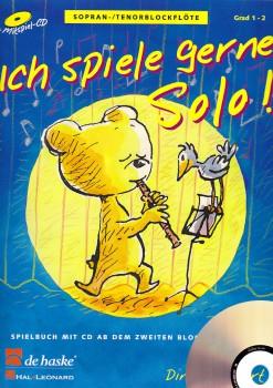 Goedhardt, Dini - Ich spiele gerne Solo - Sopranblockflöte + CD
