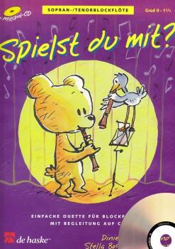 Goedhardt, Dini - Spielst Du mit? - Sopranblockflöte + CD