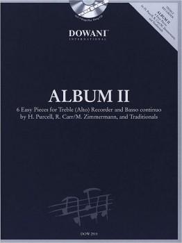 Album III - seven easy pieces- treble recorder + CD
