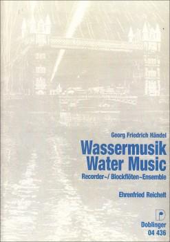 Händel, Georg Friedrich - Wassermusik - SAT und Bc.