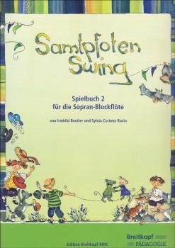 Samtpfoten Swing - Spielbuch 2 für Sopranblockflöte und Klavier