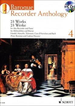 Bowmann, Peter / Heyens, Gudrun - Baroque Recorder Anthology  4 - Altblockflöte und Klavier + CD