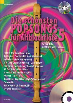 Bye, Uwe - Die schönsten Popsongs Band 5 - 2 Altblockflöten + CD