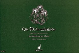 Alte Weihnachtslieder - Altblockflöte und Klavier