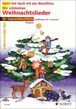 Spiel und Spaß mit der Blockflöte - Die schönsten Weihnachtslieder - 1 - 2 Sopranblockflöten