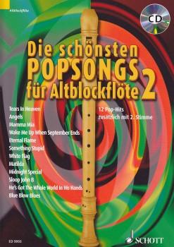 Wingerter, Harald / Beiling, Jan - Die schönsten Popsongs Band 2 - 2 treble recorder + CD