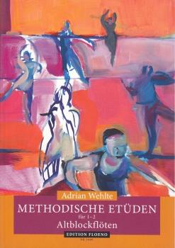 Wehlte, Adrian - Methodische Etüden - 1-2 Altblockflöten
