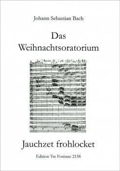 Bach, Johann Sebastian -  Jauchzet, frohlocket (Weihnachtsoratorium) - Blockflöten Quartett SATB