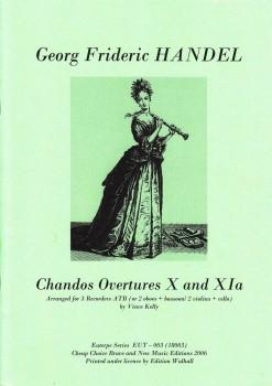 Händel, Georg Friedrich - Chandos Ouverturen X und XIa - ATB