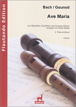 Bach / Gounod - Ave Maria - AT und Klavier