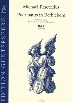 Praetorius, Michael - Puer natus in Bethlehem - Heft 2 3-stimmig