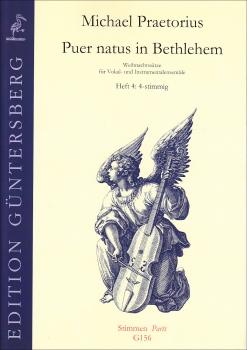 Praetorius, Michael - Puer natus in Bethlehem 4 -  Blockflötenquartett SATB
