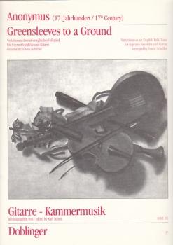 Greensleeves - Sopranflöte und Gitarre
