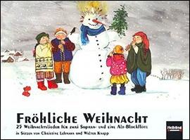 Fröhliche Weihnacht - 3 Blockflöten SSA