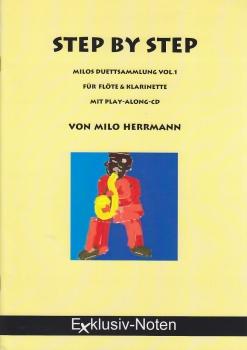Herrmann, Milo - Step by Step - Sopran-/Altblockflöte + CD